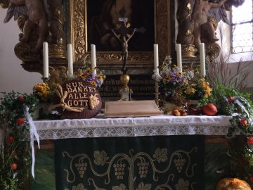 Erntedank Altar